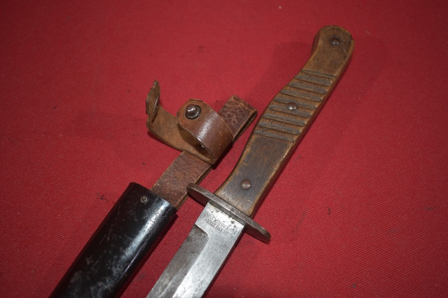 WW1 GERMAN TRENCH/FIGHTING KNIFE. c-SOLD