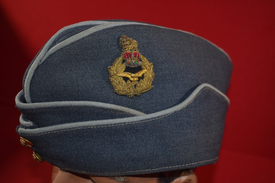 RAF OFFICERS AIR RANK FIELD SERVICE SIDE CAP-SOLD
