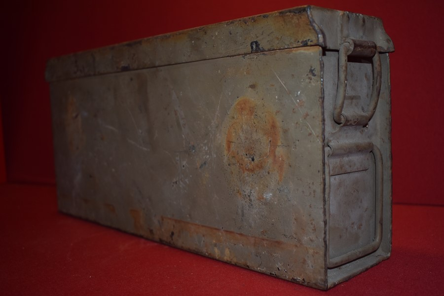 WW2 GERMAN ARMY AMMO TIN