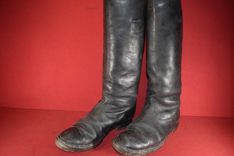 WW2 GERMAN SOLDIERS MARCHING BOOTS-SOLD