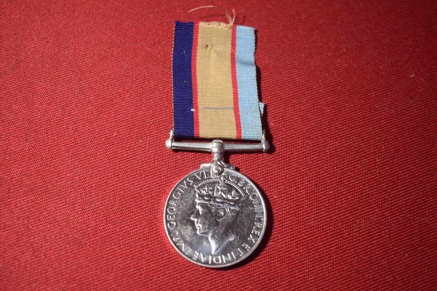 WW2 AUSTRALIAN SERVICE MEDAL TO 10 LIGHT HORSE