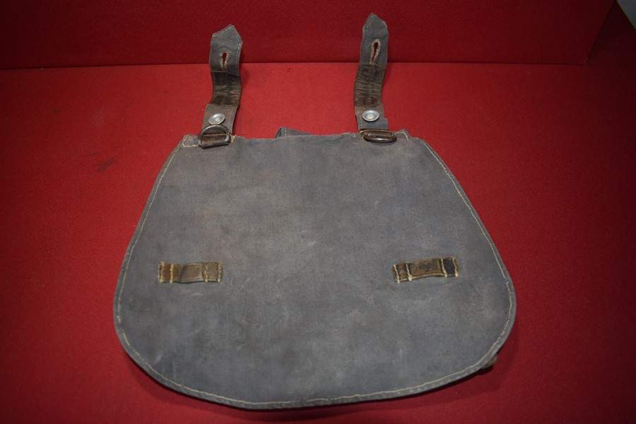 WW2 GERMAN LUFTWAFFE/PARATROOPERS BREAD BAG-SOLD