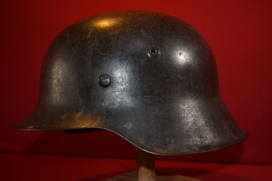 WW2 GERMAN ARMY M42 HELMET (NO DECAL)