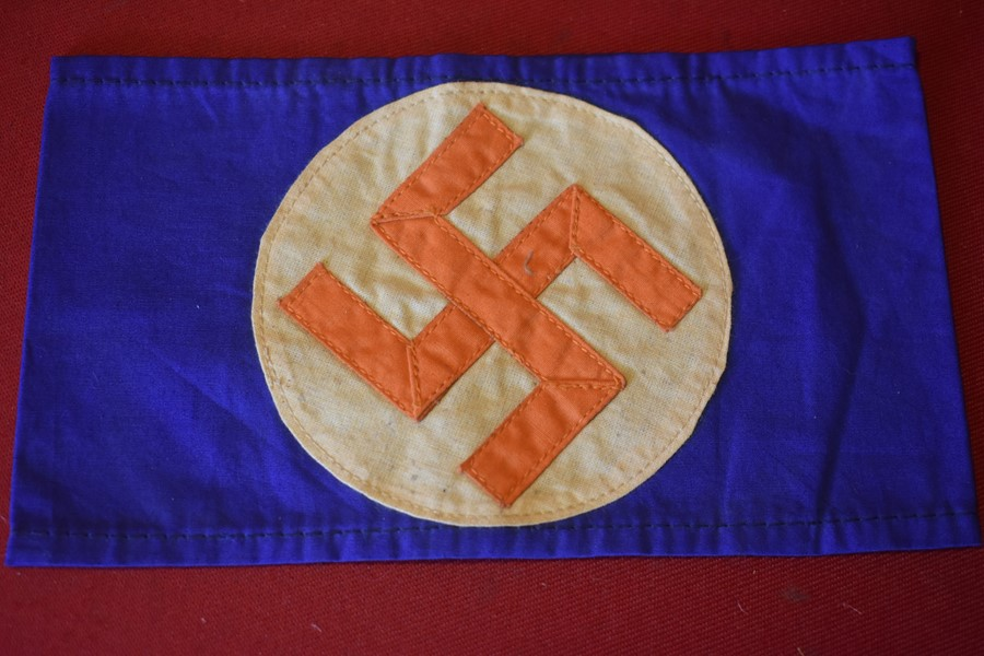WW2 SOUTH AFRICAN NAZI PARTY (Ossebrandwag) ARMBAND