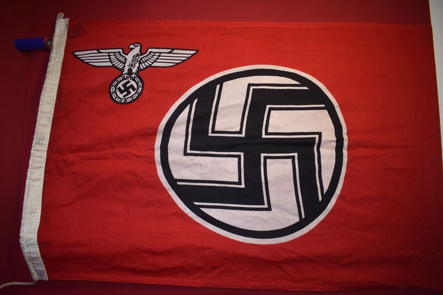WW2 GERMAN STATE SERVICE FLAG-SOLD