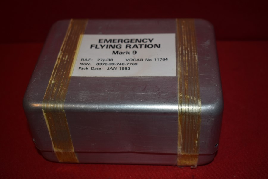 EMERGENCY FLYING RATION MK 9-SOLD