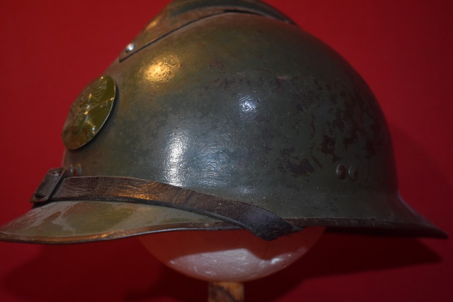 WW2 FRENCH ADRIAN HELMET