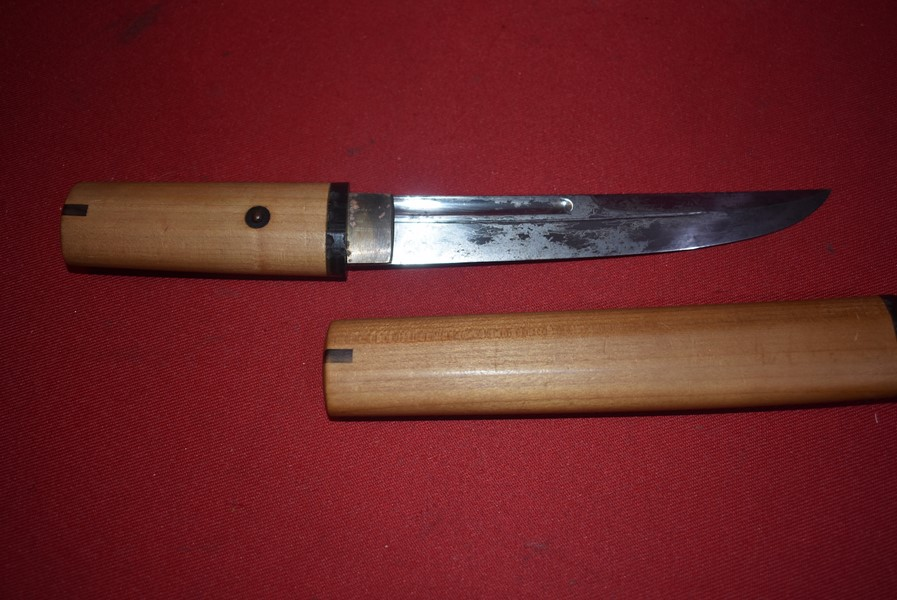 JAPANESE TANTO-SIGNED TANG 1
