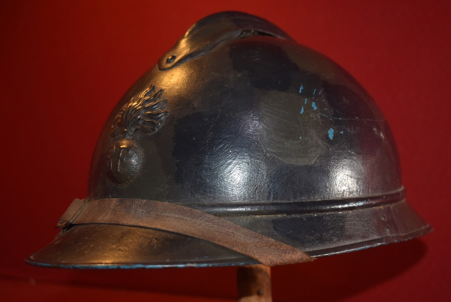 WW1 M15 FRENCH CAMO HELMET