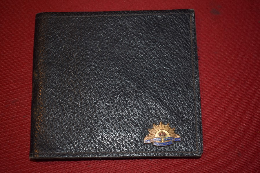 UN-ISSUED AUSTRALIAN SOLDIERS LEATHER WALLET-SOLD