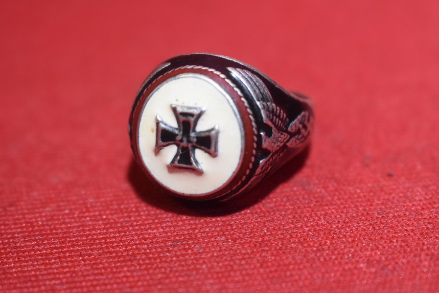 WW2 GERMAN IRON CROSS RING