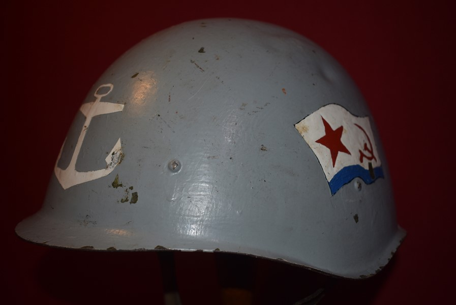 WW2 RUSSIAN NAVY SSH40 HELMET