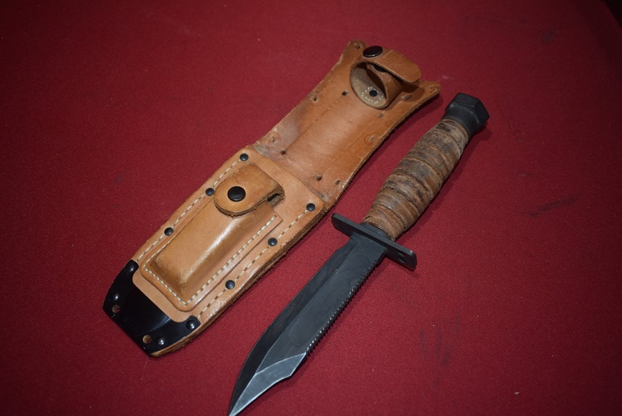 VIETNAM PERIOD US JET PILOTS SURVIVAL KNIFE ONTARIO 50-1-SOLD