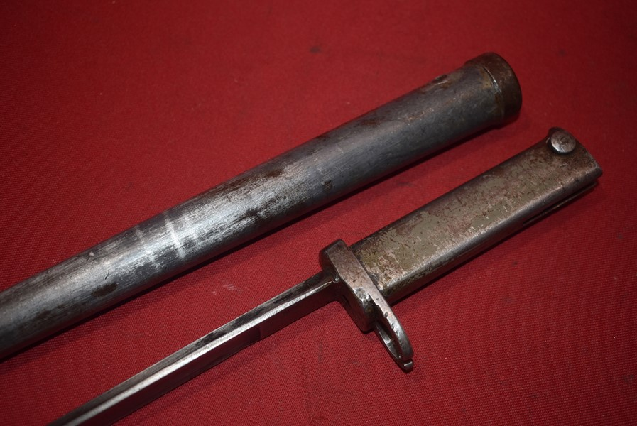 WW1 IMPERIAL GERMAN ERZATZ ERSOC BAYONET-SOLD