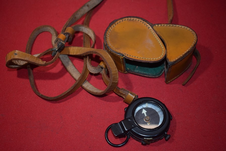 WW1 BRITISH/AUSTRALIAN COMPASS AND CARRY CASE-SOLD