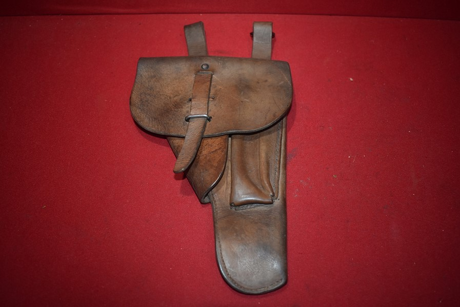 GERMAN/FRENCH P38 GREY GHOST PISTOL HOLSTER-SOLD