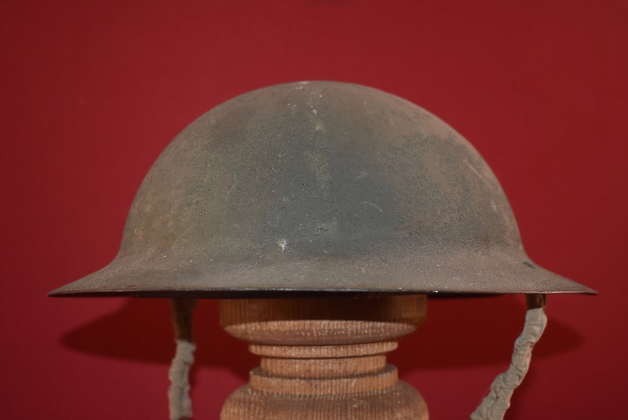 WW2 AUSTRALIAN ISSUED TOMMY HELMET-SOLD