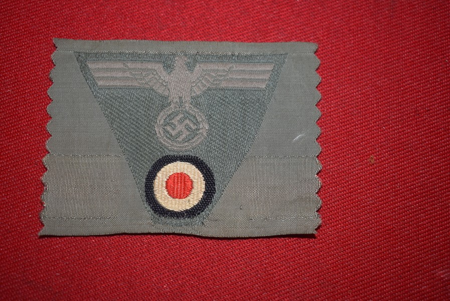 WW2 GERMAN ARMY CLOTH CAP EAGLE WITH COCKADE