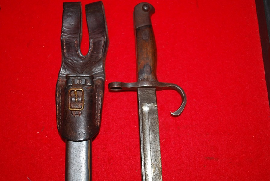 WW2 JAPANESE ARISAKA BAYONET. -SOLD