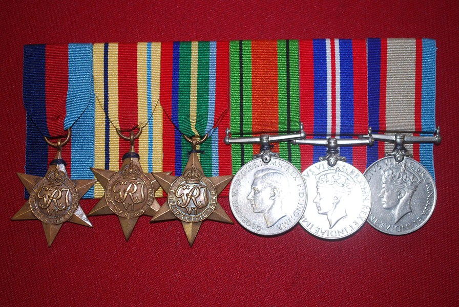 WW2 AUSTRALIAN 6 MEDAL GROUP-SYRIA AND KOKODA
