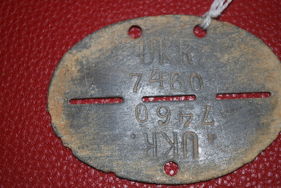 WW2 FOREIGN VOLUNTEERS ID DISC