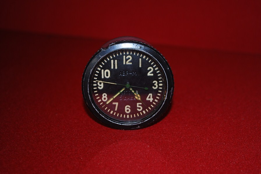 RUSSIAN TANK CLOCK-SOLD