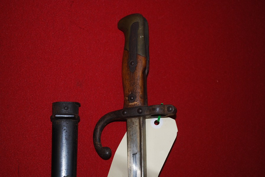 FRENCH 1874 GRAS BAYONET-SOLD