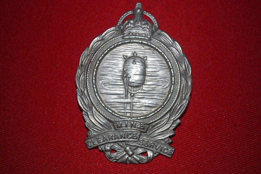 WW2 MINE CLEARANCE SERVICE BADGE