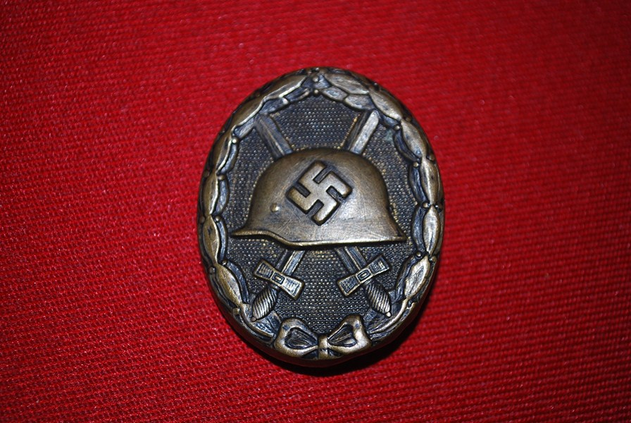 WW2 GERMAN WOUND BADGE IN BLACK.b-SOLD