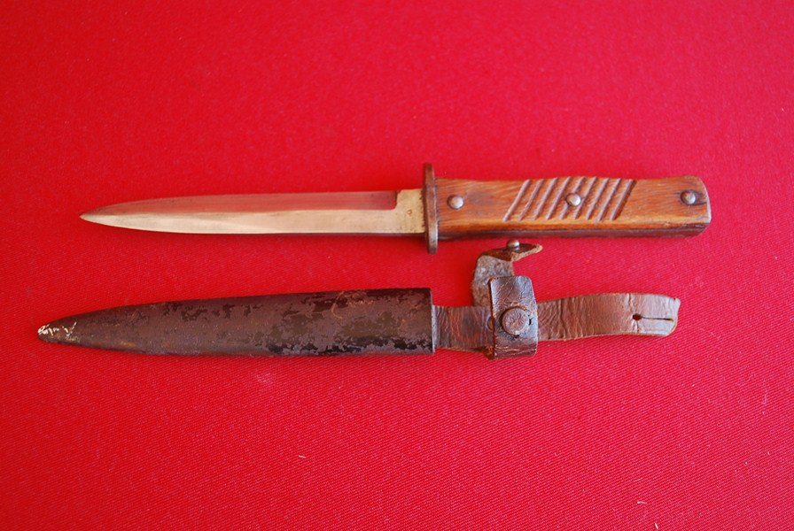 WW1 GERMAN TRENCH KNIFE f-SOLD