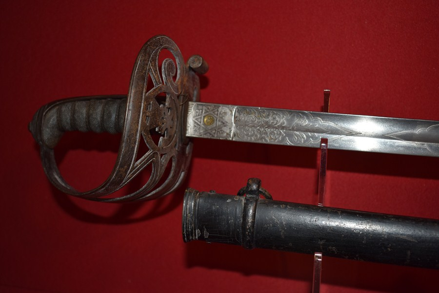 1827 PATTERN RIFLE OFFICERS SWORD-SOLD