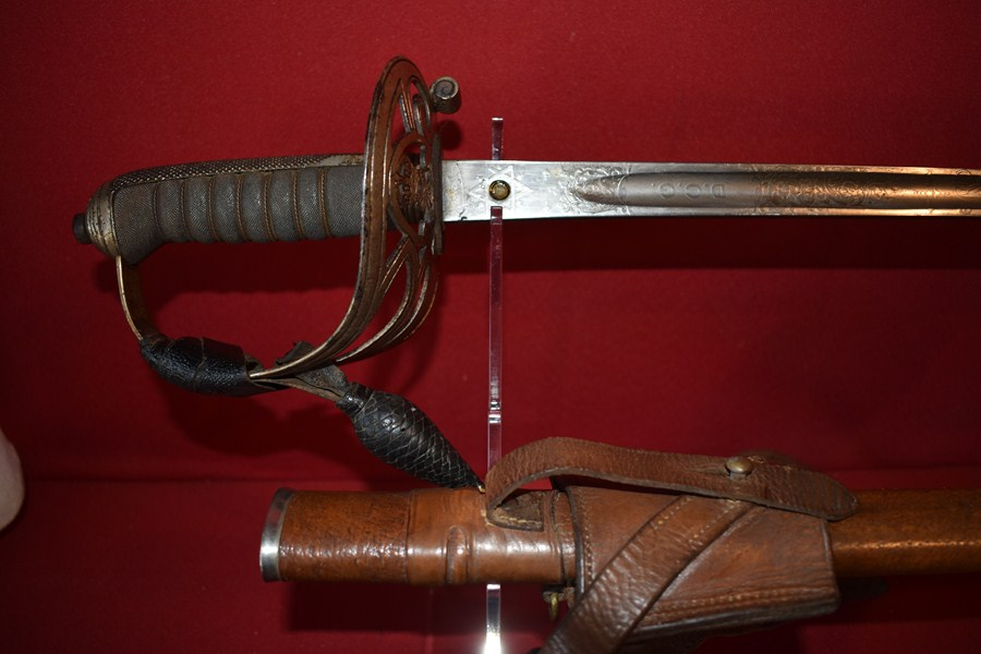 1845/54 PATTERN RIFLE OFFICERS SWORD-SOLD
