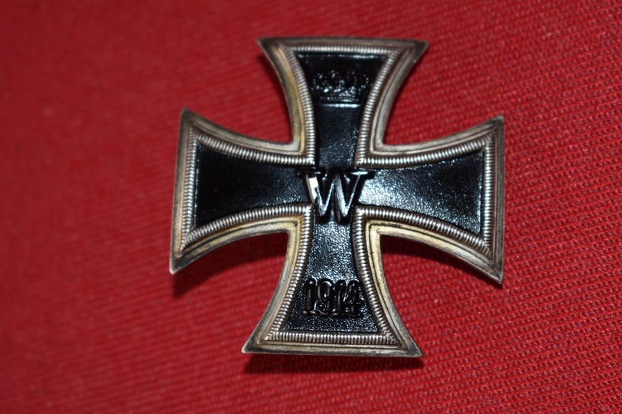 WW1 GERMAN IRON CROSS FIRST CLASS-SOLD