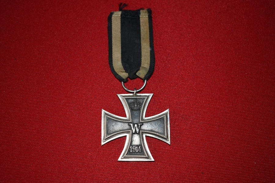 WW1 GERMAN IRON CROSS SECOND CLASS-SOLD