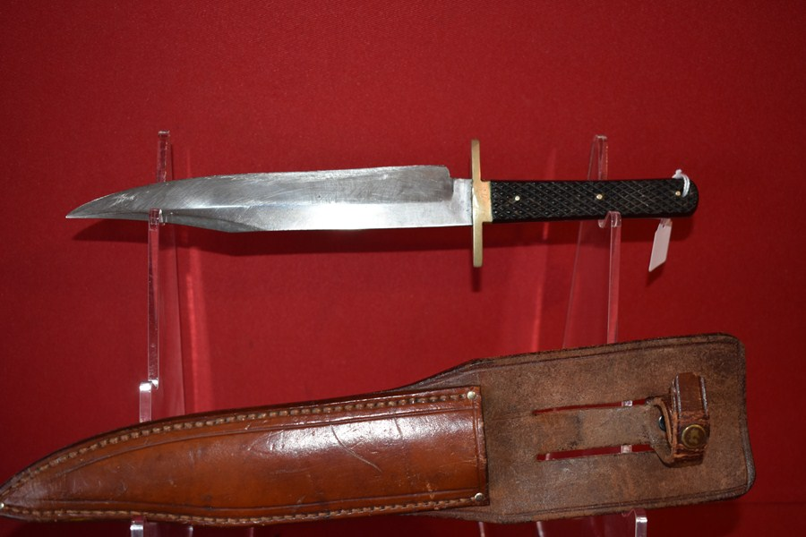 19th CENTURY BOWIE KNIFE-SOLD
