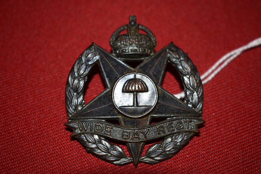 AUSTRALIAN ARMY HAT BADGE. 47 BN THE WIDE BAY REGIMENT. 30-42