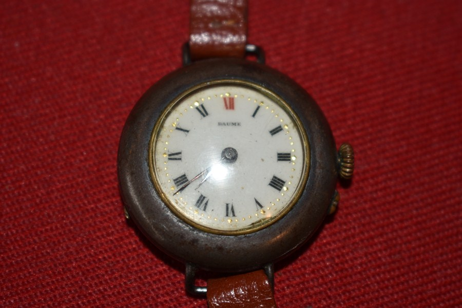 WW1 SOLDIERS WRIST WATCH