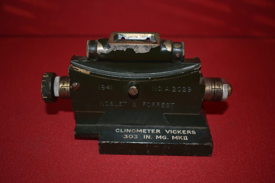 CLINOMETER FOR VICKERS MACHINE GUN