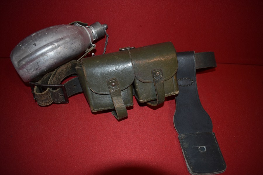 WW2 ITALIAN EQUIPMENT BELT SET