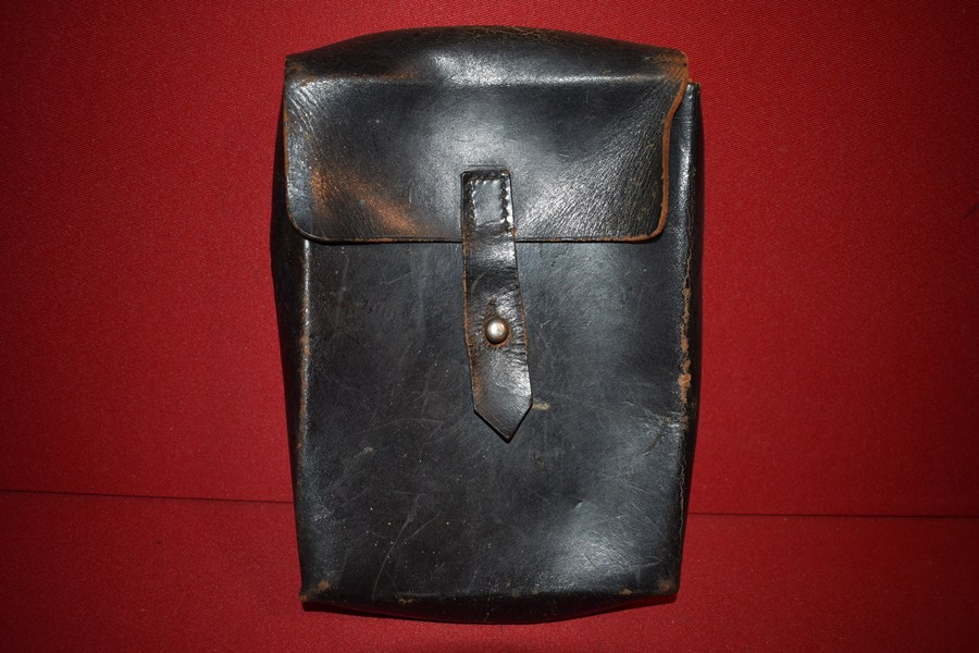 WW2 GERMAN LEATHER DOCUMENT POUCH