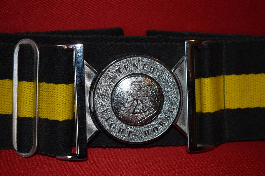 10TH LIGHT HORSE STABLE BELT-SOLD