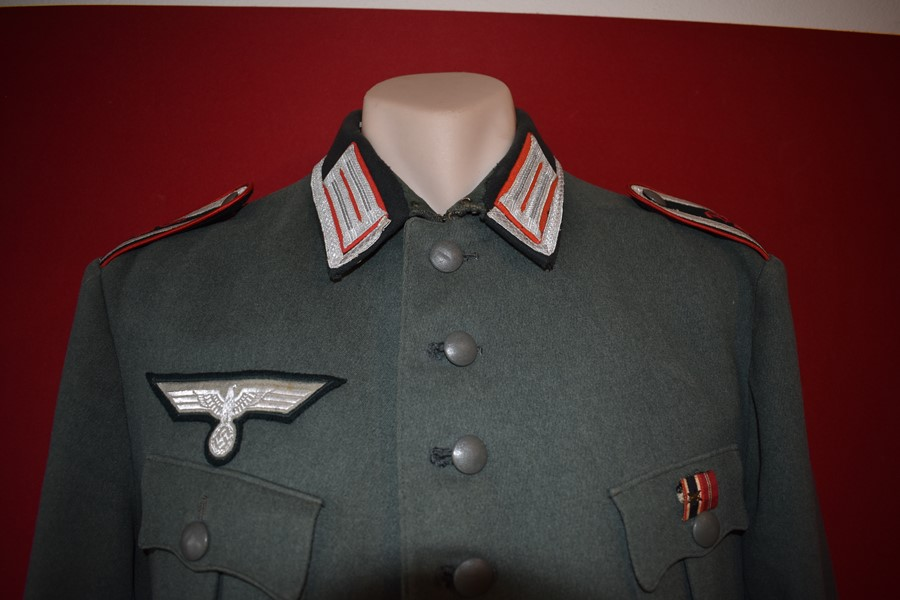 WW2 GERMAN M35 NCO DRESS TUNIC-SOLD