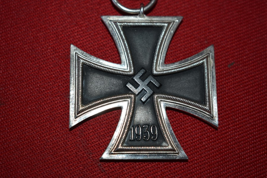 WW2 GERMAN IRON CROSS 2ND CLASS-SOLD