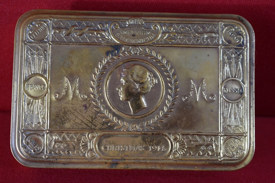 WW1 QUEEN MARY GIFT TIN 1914-SOLD