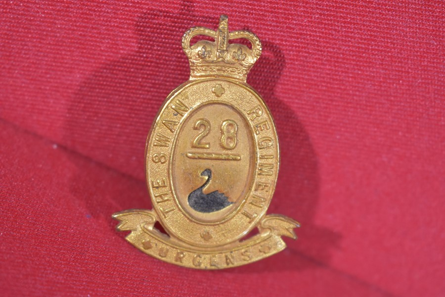 AUSTRALIAN ARMY HAT BADGE. 28BN THE SWAN REGIMENT. 53-60