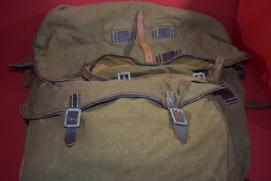 WW2 GERMAN MOUNTAIN TROOPS (GEBIRGSJAGER) RUCKSACK