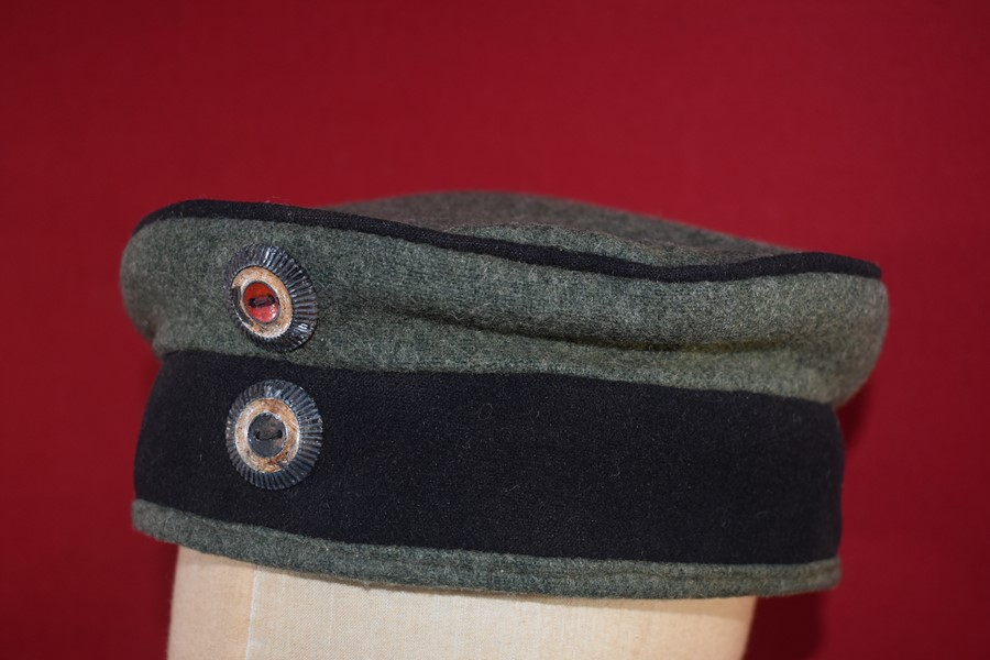 WW1 GERMAN PORK PIE HAT (KRATZCHEN) DATED 1916