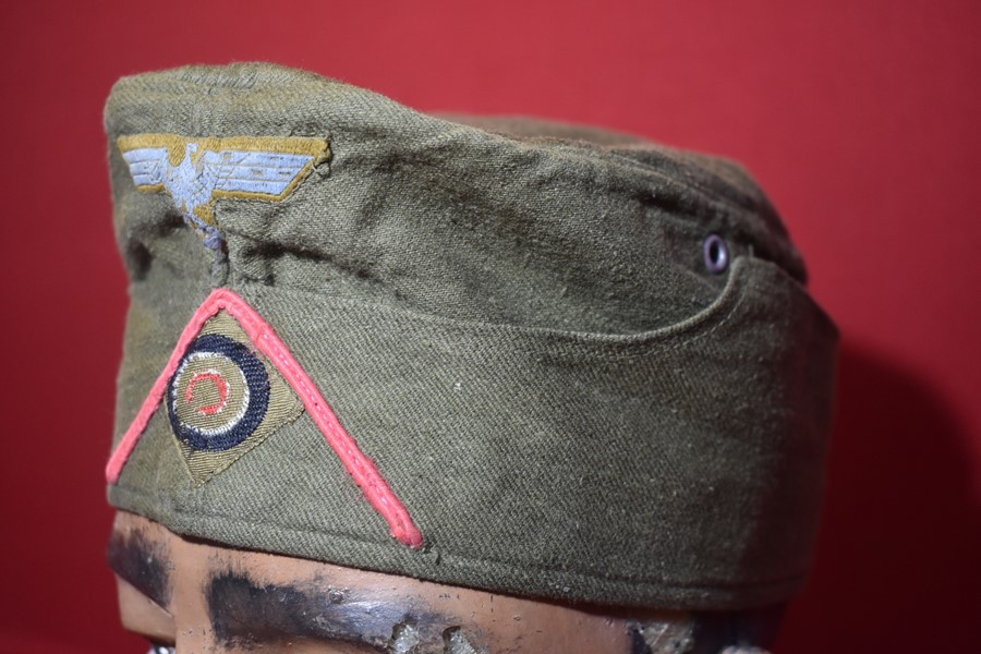 WW2 GERMAN TROPICAL AFRIKA KORPS PANZER SIDE CAP