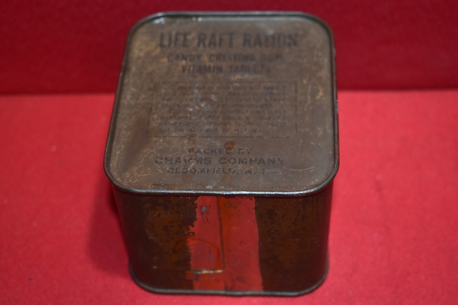 WW2 LIFE-RAFT RATIONS-UNOPENED-SOLD