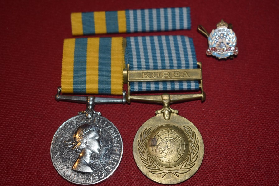 AUSTRALIAN KOREAN WAR PAIR 2 RAR BATTLE OF THE HOOK-SOLD